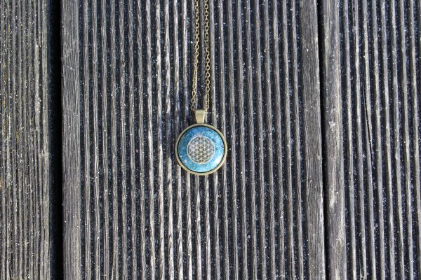 Orgonit Amulett Frontansicht