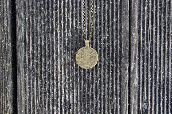 Orgonit Amulett Rückansicht